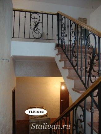 Перила (лестничные ограждения) FLK-221 - фото 3