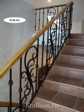 Перила (лестничные ограждения) FLK-221 - фото 1