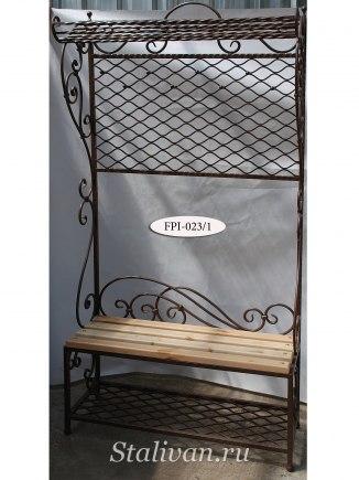 Напольная вешалка с ковкой FPI-023 - фото 2