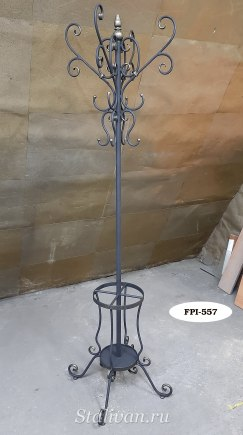 Вешалка-стойка с элементами ковки FPI-007 - фото 2