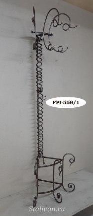 Вешалка-стойка с ковкой FPI-012 - фото 3