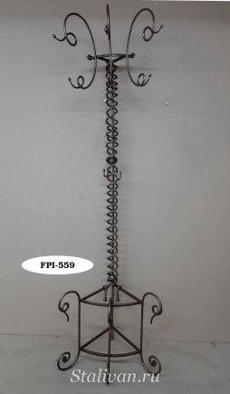 Вешалка-стойка с ковкой FPI-012 - фото 2