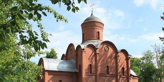 Новая дверь в церкви (г. Мытищи)