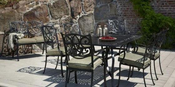 Советы по выбору кованой мебели для сада