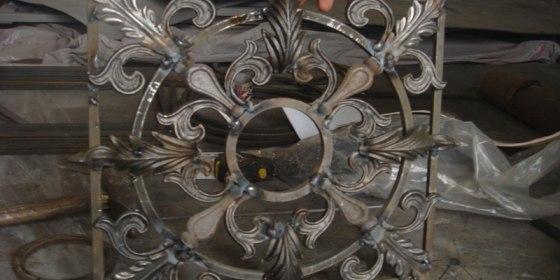 Реставрация кованых изделий